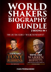 Cover World Shakers Biography Bundle: 2 Books in 1