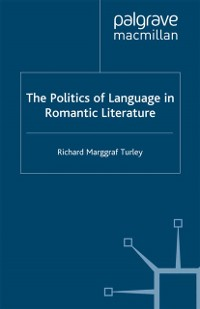 Cover Politics of Language in Romantic Literature