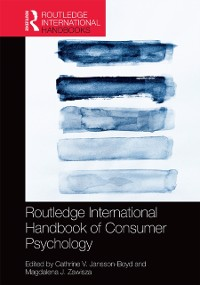 Cover Routledge International Handbook of Consumer Psychology