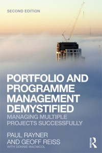 Cover Portfolio and Programme Management Demystified