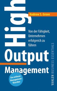 Cover High Output Management