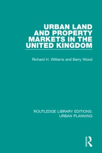 Cover Urban Land and Property Markets in the United Kingdom