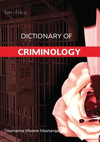 Cover Dictionary of Criminology
