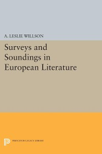 Cover Surveys and Soundings in European Literature