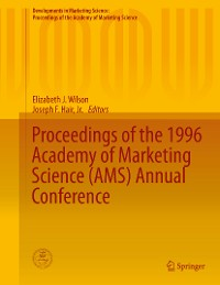 Cover Proceedings of the 1996 Academy of Marketing Science (AMS) Annual Conference