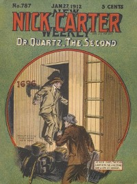 Cover Doctor Quartz, the Second (Nick Carter #787)