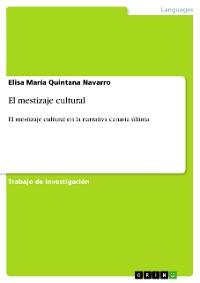 Cover El mestizaje cultural