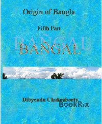 Cover Origin of Bangla Fifth Part Bangal