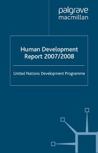 Cover Human Development Report 2007/2008