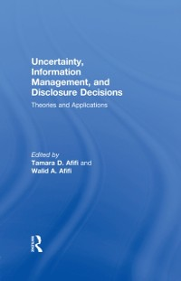 Cover Uncertainty, Information Management, and Disclosure Decisions