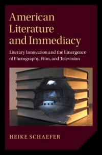 Cover American Literature and Immediacy