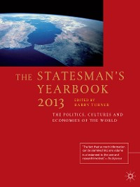 Cover The Statesman's Yearbook 2013