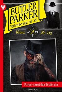 Cover Butler Parker 213 – Kriminalroman