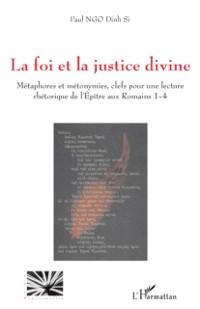 Cover La foi et la justice divine - metaphores et metonymies, clef