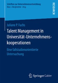 Cover Talent Management in Universität-Unternehmenskooperationen