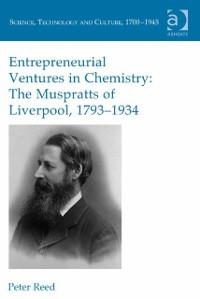 Cover Entrepreneurial Ventures in Chemistry