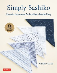 Cover Simply Sashiko