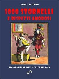 Cover 1000 stornelli e Rispetti Amorosi