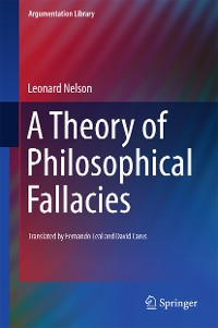 Cover A Theory of Philosophical Fallacies