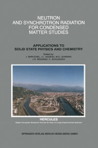 Cover Neutron and Synchrotron Radiation for Condensed Matter Studies