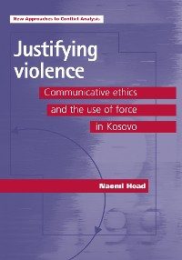 Cover Justifying violence