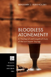 Cover Bloodless Atonement?