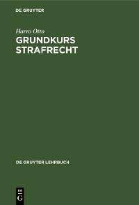 Cover Grundkurs Strafrecht