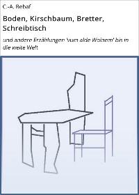 Cover Boden, Kirschbaum, Bretter, Schreibtisch