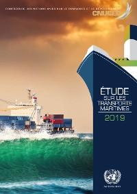 Cover Etudes sur les transports maritimes 2019