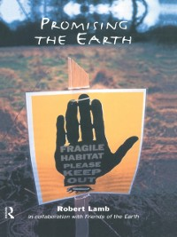 Cover Promising the Earth