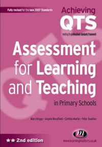 Cover Assessment for Learning and Teaching in Primary Schools