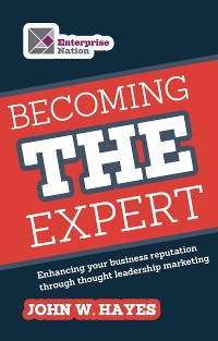 Cover Becoming THE Expert