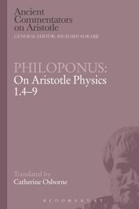 Cover Philoponus: On Aristotle Physics 1.4-9
