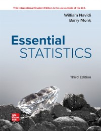 Cover ISE eBook Online Access for Essential Statistics