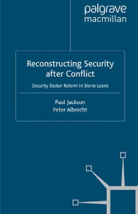 Cover Reconstructing Security after Conflict