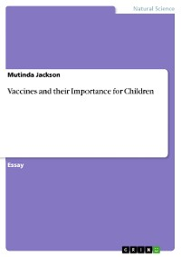 Cover Vaccines and their Importance for Children