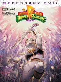 Cover Mighty Morphin Power Rangers, Issue 40