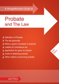 Cover Straightforward Guide To Probate And The Law