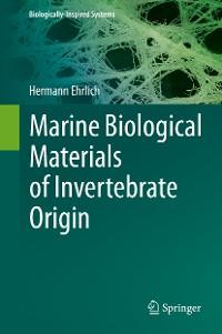 Cover Marine Biological Materials of Invertebrate Origin