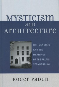 Cover Mysticism and Architecture