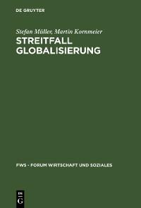 Cover Streitfall Globalisierung