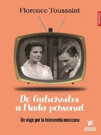 Cover De Gutierritos a Nada Personal