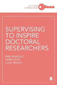 Cover Supervising to Inspire Doctoral Researchers