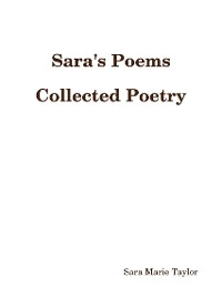 Cover Sara's Poems Collected Poetry