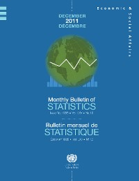 Cover Monthly Bulletin of Statistics, December 2011