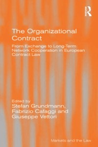 Cover Organizational Contract