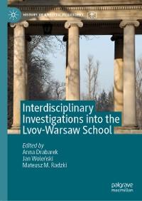 Cover Interdisciplinary Investigations into the Lvov-Warsaw School