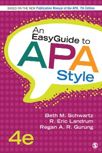 Cover An EasyGuide to APA Style