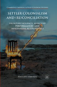 Cover Settler Colonialism and (Re)conciliation