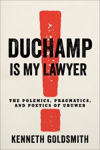 Cover Duchamp Is My Lawyer